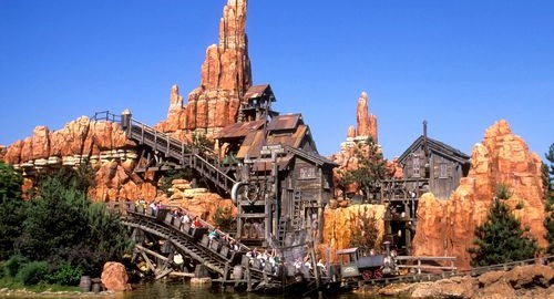 Attractions Disneyland Paris